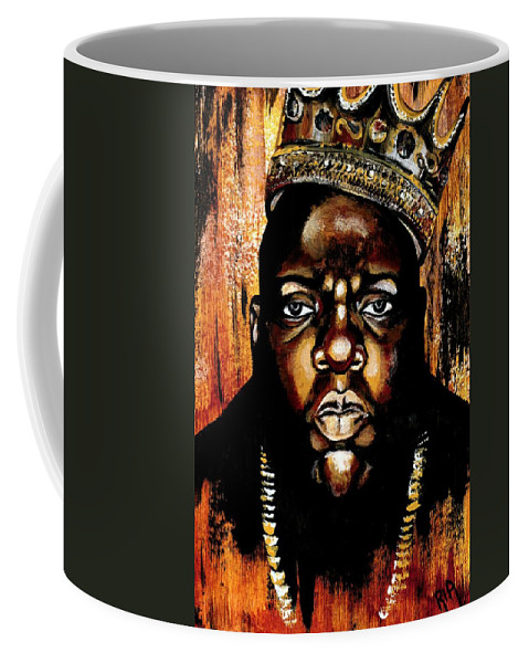 Music Coffee Mug featuring the photograph BiGgiE by Artist RiA