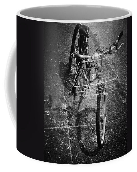 Street Photography Coffee Mug featuring the photograph Bike Ride Friend by The Artist Project