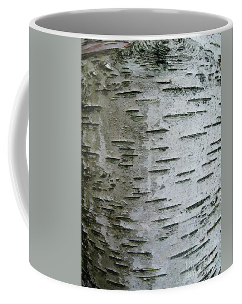 Birch Bark Coffee Mug featuring the photograph Birch Bark by Janell R Colburn