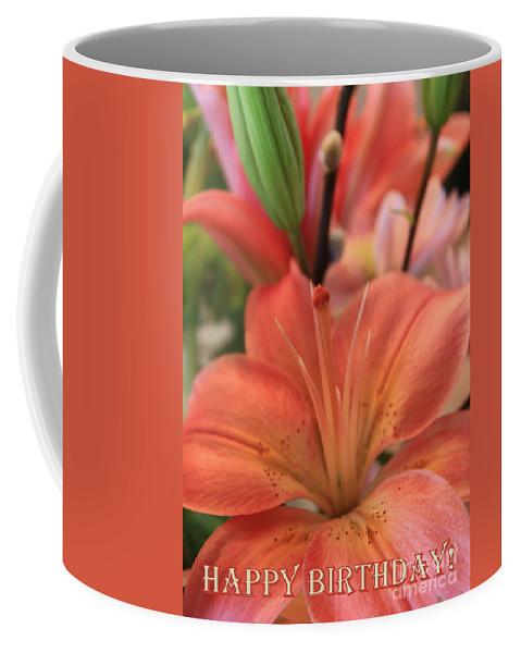 Birthday Card Coffee Mug featuring the photograph Birthday Card by Carol Groenen