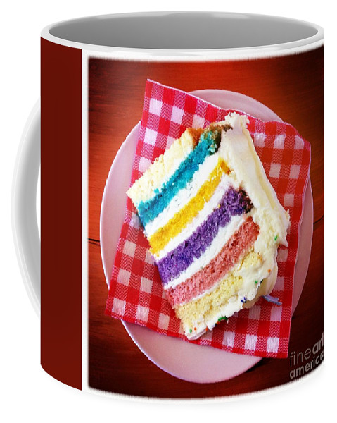 Cake Coffee Mug featuring the photograph Birthday Time by Neil Overy