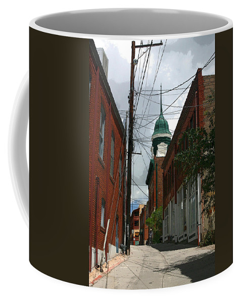 Bisbee Coffee Mug featuring the photograph Bisbee Arizona by Joe Kozlowski