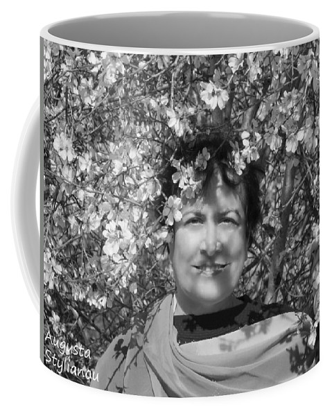 Augusta Stylianou Coffee Mug featuring the photograph Black And White Beauty by Augusta Stylianou