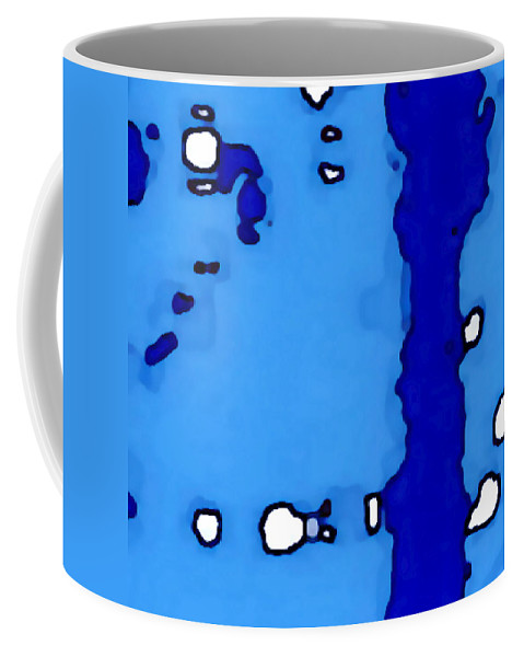 Landscape Coffee Mug featuring the digital art Black Canyon Of The Gunnison by Tim Richards