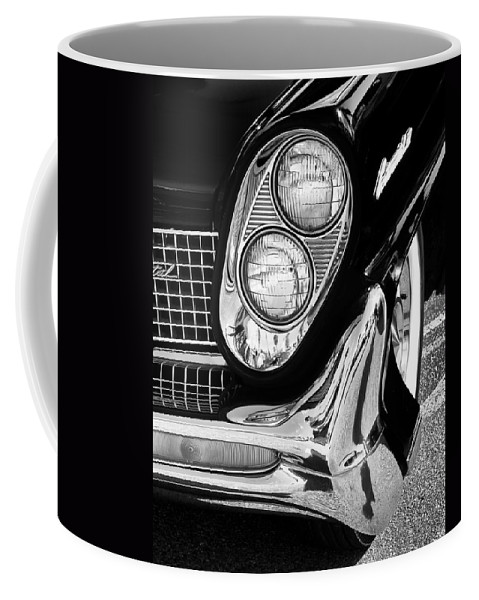 Car Auction Coffee Mug featuring the photograph QUITE CONTINENTAL Palm Springs by William Dey