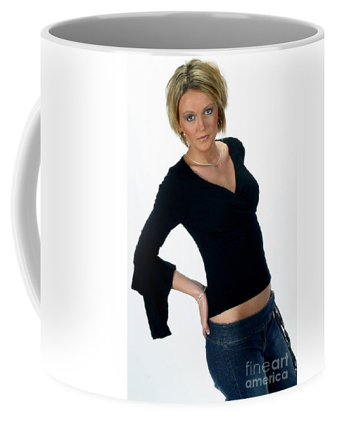 Model Coffee Mug featuring the photograph Black18-crop by Gary Gingrich Galleries
