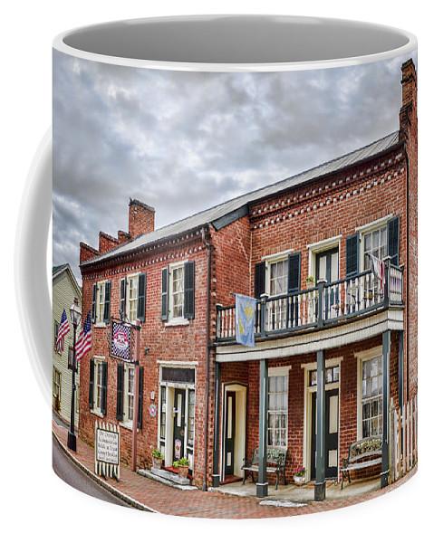 Jonesborough Coffee Mug featuring the photograph Blair Moore House by Heather Applegate
