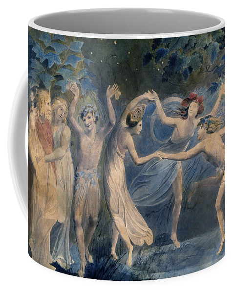 1786 Coffee Mug featuring the photograph Blake: Fairies, C1786 by Granger