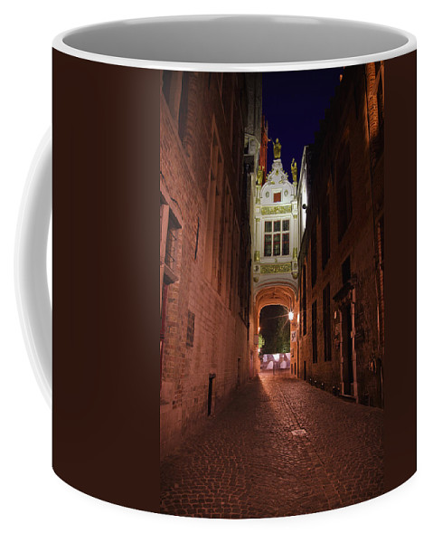 3scape Coffee Mug featuring the photograph Blind Donkey Alley by Adam Romanowicz