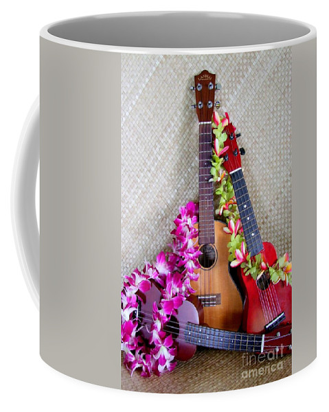 Hawaii Culture Coffee Mug featuring the photograph Blond Brunette And Redhead by Mary Deal
