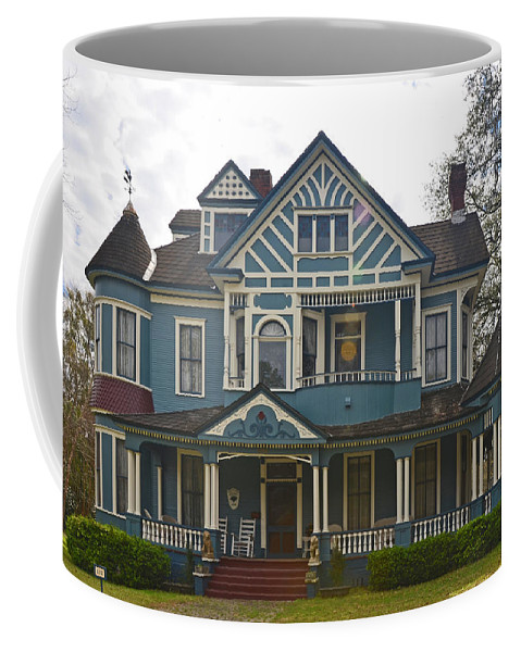 House Coffee Mug featuring the photograph Blue Bainbridge Beauty by Carla Parris