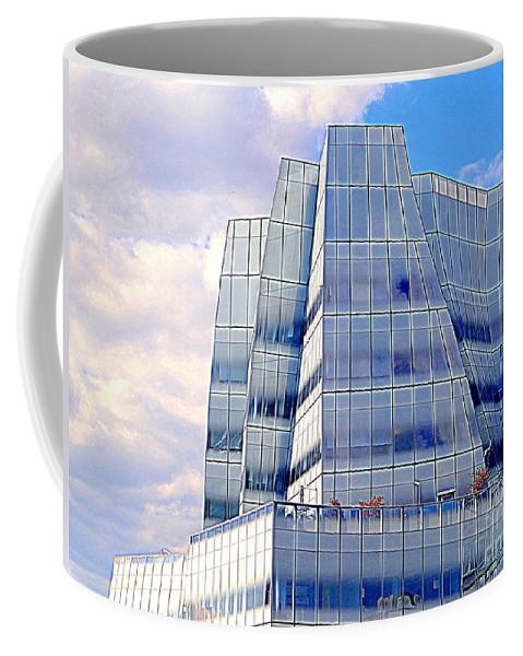 New York City Coffee Mug featuring the photograph Blue Beauty by Ed Weidman