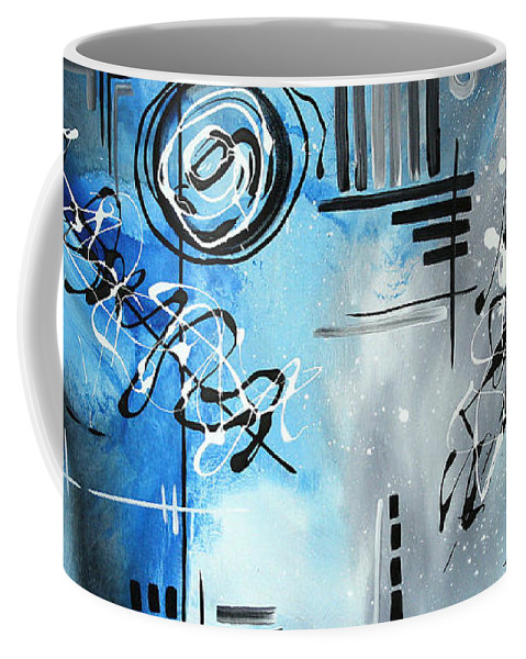 Wall Coffee Mug featuring the painting Blue Divinity By Madart by Megan Duncanson
