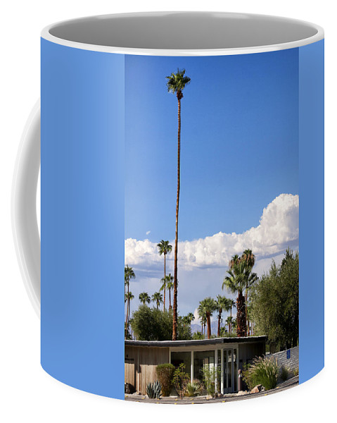 Palm Springs Coffee Mug featuring the photograph Blue Horizon Palm Springs by William Dey