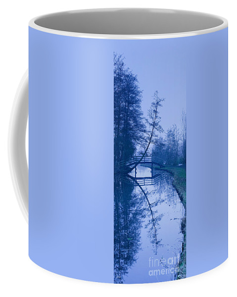 Reflection Coffee Mug featuring the photograph Blue Monday by Casper Cammeraat