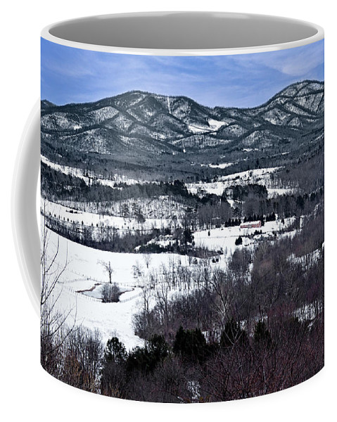 Blue Ridge Vista Coffee Mug featuring the photograph Blue Ridge Vista by Jemmy Archer