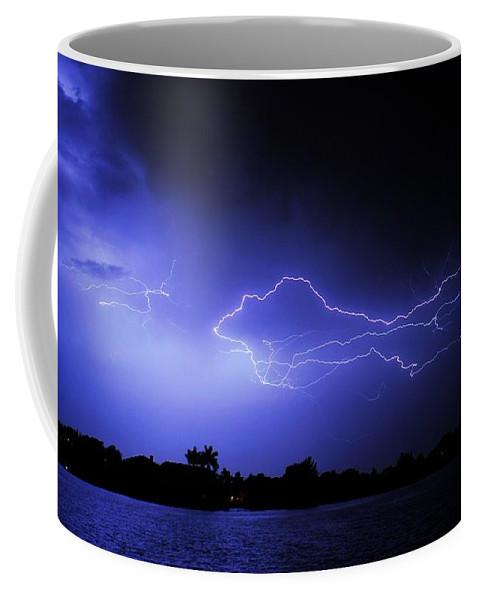 Powerful Coffee Mug featuring the photograph Blue Shark by Quinn Sedam