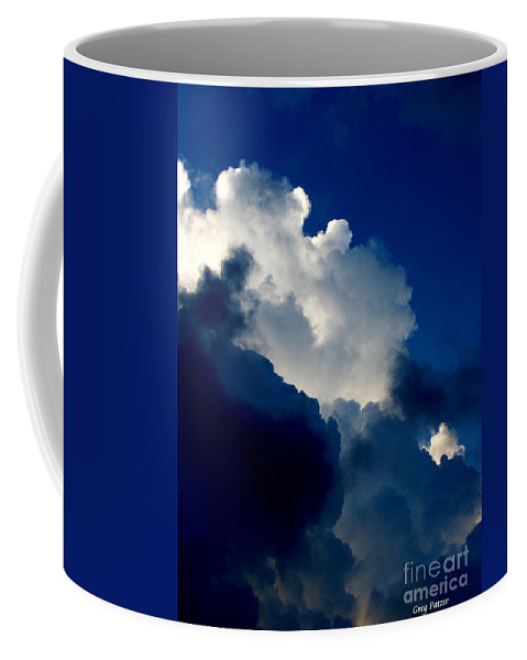 Patzer Coffee Mug featuring the photograph Blue Skies by Greg Patzer