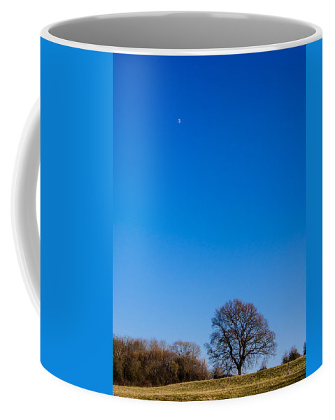 Berkshire Coffee Mug featuring the photograph Blue Sky Day by Mark Llewellyn