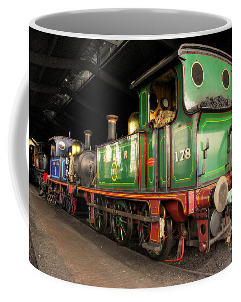 Bluebell Coffee Mug featuring the photograph Bluebell Shed by Rob Hawkins