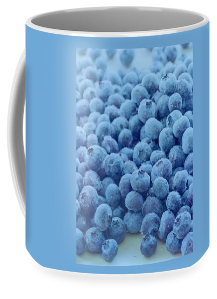 Berries Coffee Mug featuring the photograph Blueberries by Romulo Yanes