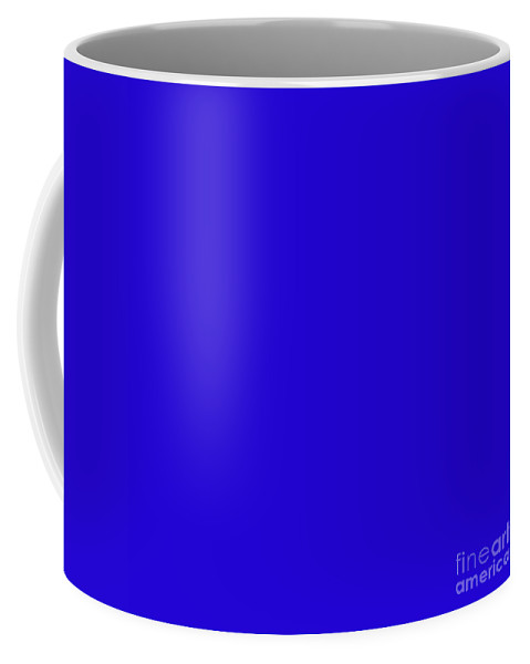 Andee Design Abstract Coffee Mug featuring the digital art Blueberry Pie by Andee Design