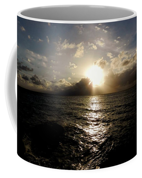 Color Coffee Mug featuring the photograph Blues @ Evening by Amar Sheow