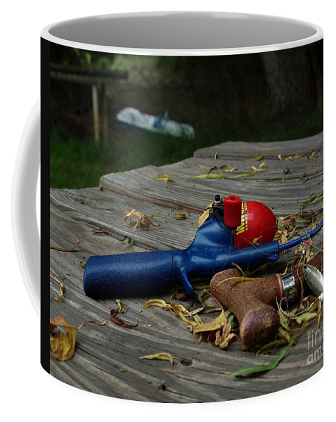 Angling Coffee Mug featuring the photograph Blured Memories 02 by Peter Piatt