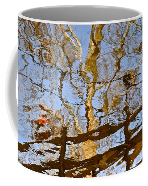 Tree Coffee Mug featuring the photograph Blurred Reality by Frozen in Time Fine Art Photography