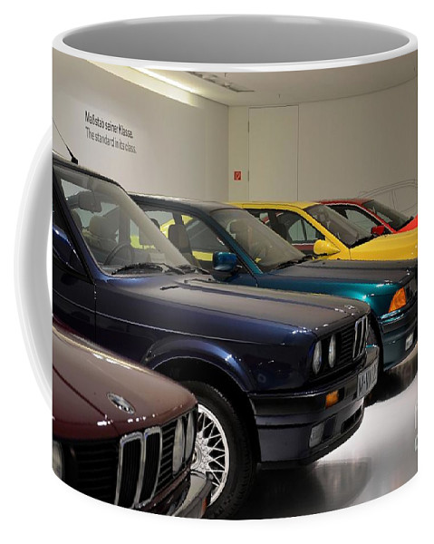 Bmw Cars Through The Years Munich Germany Coffee Mug For Sale By