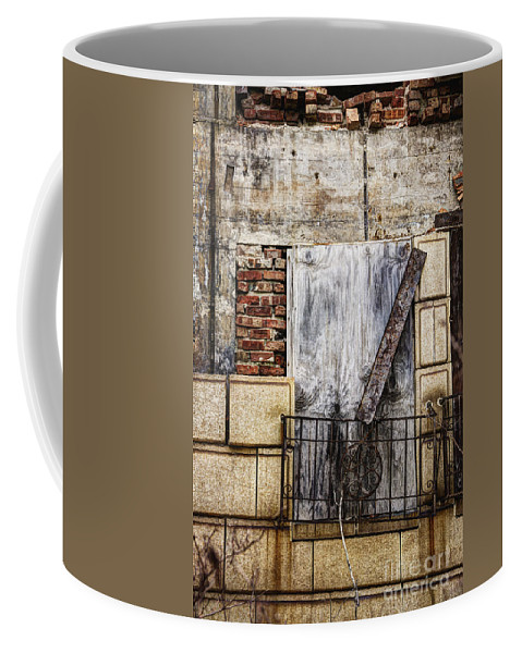 Window Coffee Mug featuring the photograph Boards by Margie Hurwich