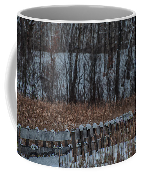 Boardwalk Coffee Mug featuring the photograph Boardwalk Series No2 by Bianca Nadeau