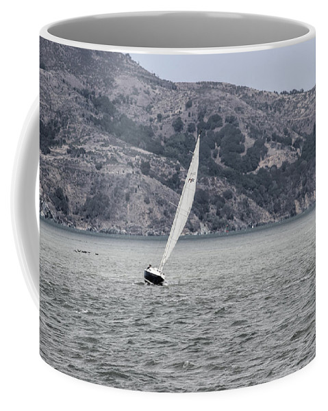 California Coffee Mug featuring the photograph Boat by Becca Buecher