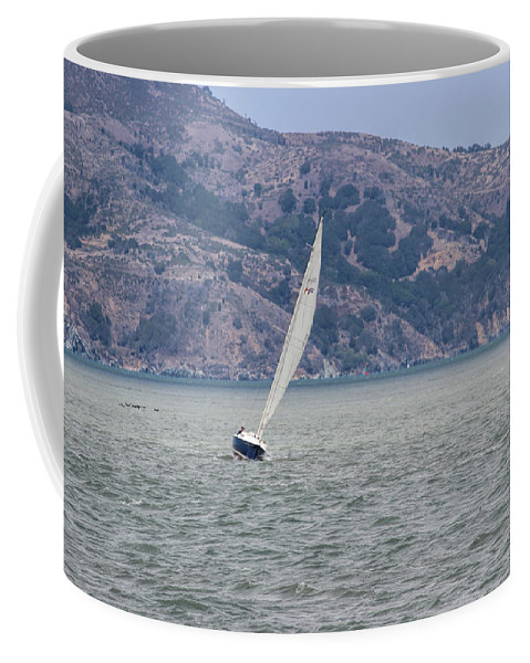 California Coffee Mug featuring the photograph Boat- In Color by Becca Buecher