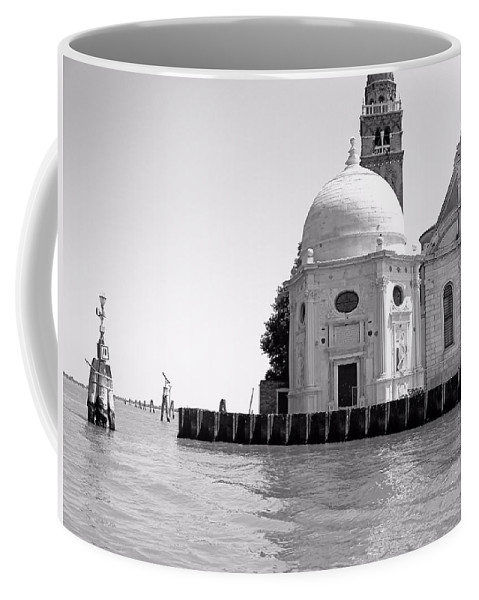 Murano Coffee Mug featuring the photograph Boat To Murano by Jenny Hudson