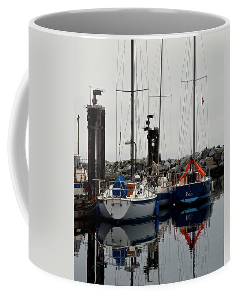 Sailboat Coffee Mug featuring the photograph Bob by Randy Hall
