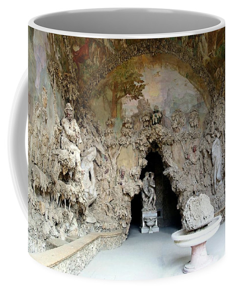 Boboli La Grotto Grande Coffee Mug featuring the photograph Boboli La Grotta Grande 3 by Ellen Henneke