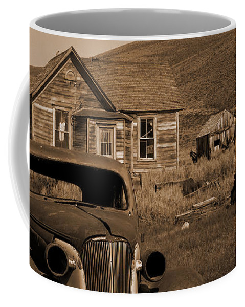 Car Coffee Mug featuring the photograph Bodie  #72986 by J L Woody Wooden