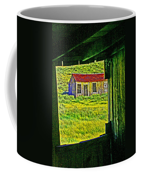 Bodie Coffee Mug featuring the photograph Bodie Ca From My Window by Joseph Coulombe