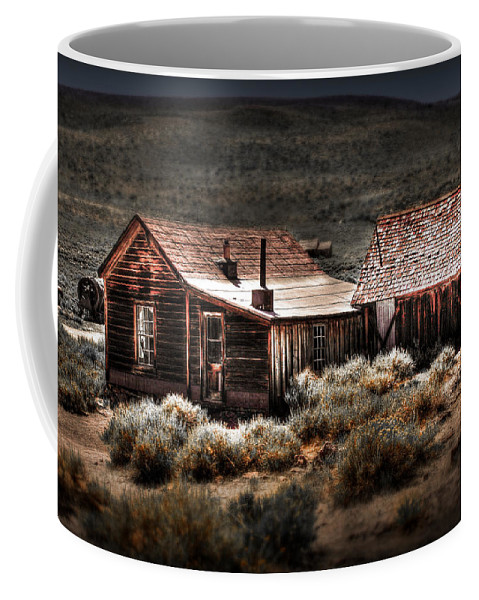 Bodie House Coffee Mug featuring the photograph Bodie House by Chris Brannen