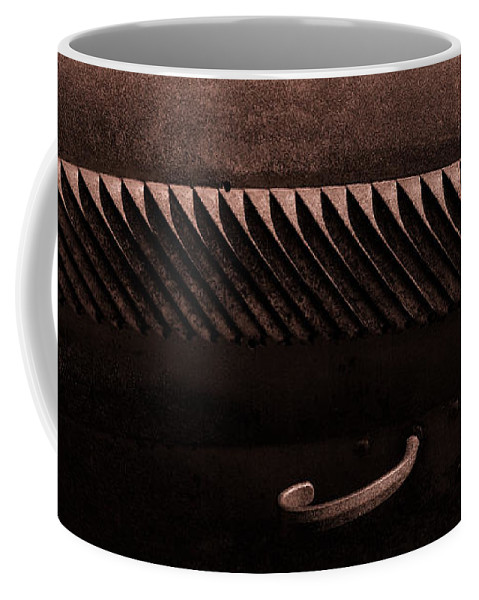 Car Hood Coffee Mug featuring the photograph Bodie Louvers by J L Woody Wooden