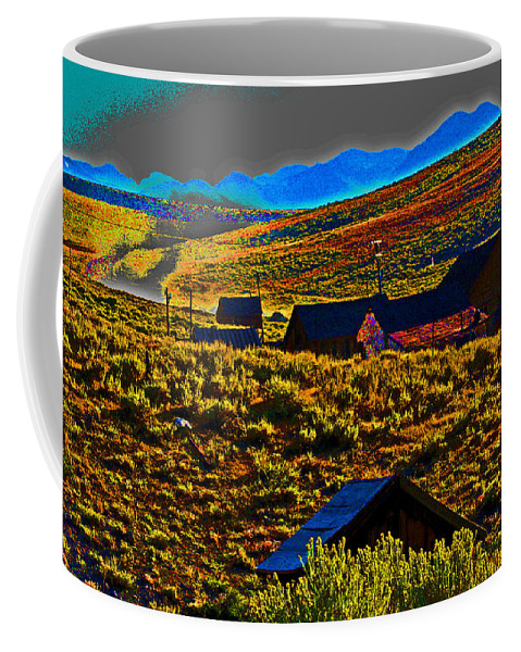 Bodie Coffee Mug featuring the photograph Bodie Sunset by Joseph Coulombe