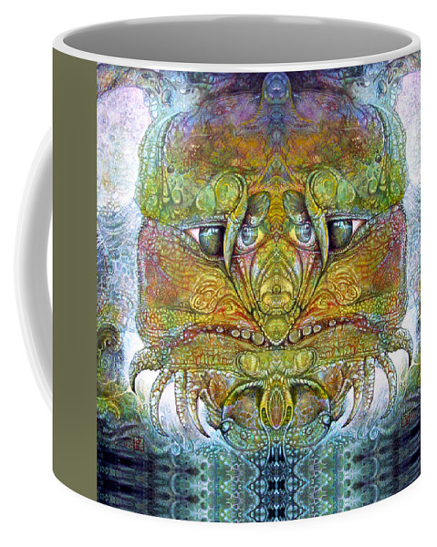 \bogomil Variations\ \otto Rapp\ \ Michael F Wolik\ Coffee Mug featuring the digital art Bogomil Variation 11 by Otto Rapp