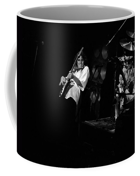 Tommy Bolin Coffee Mug featuring the photograph Bolin #1 by Ben Upham