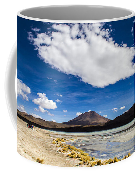 Lagoon Coffee Mug featuring the photograph Bolivia Tour Desert by For Ninety One Days