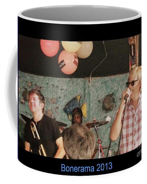 Coffee Mug featuring the photograph Bonerama 2013 by Kelly Awad