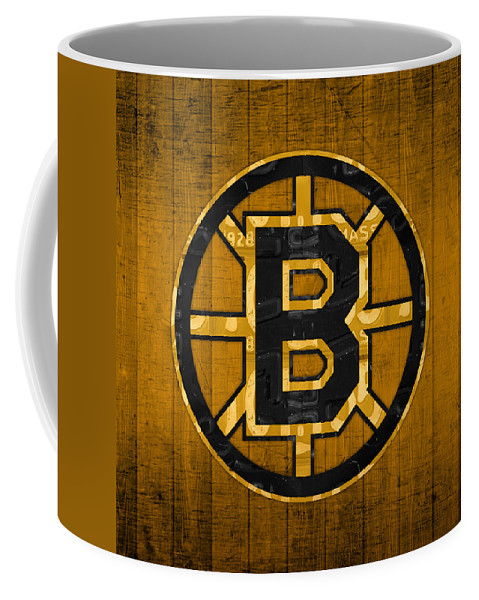 Boston Bruins Hockey Team Retro Logo Vintage Recycled Massachusetts License  Plate Art Coffee Mug for Sale by Design Turnpike cce9427c8c1a
