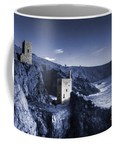Bottallack Coffee Mug featuring the photograph Bottallack In Blue by Rob Hawkins