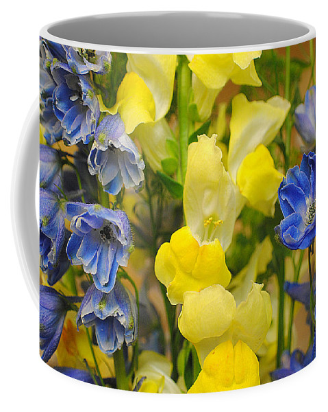 Bouquet Coffee Mug featuring the photograph Bouquet by Frozen in Time Fine Art Photography