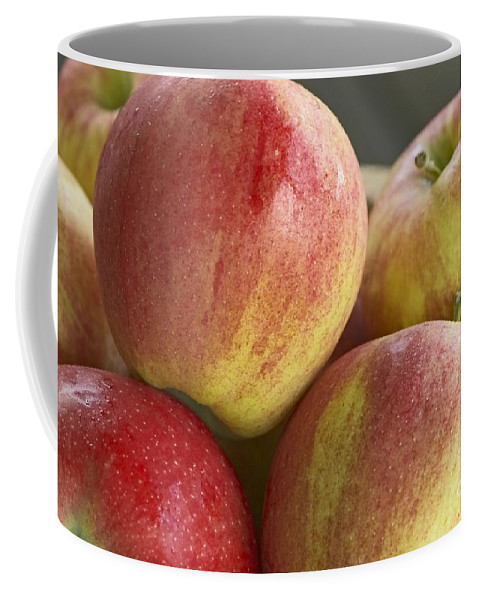 Bowl Of Apples Coffee Mug featuring the photograph Bowl Of Royal Gala Apples by Sharon Talson